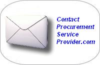 Contact Procurement Services Provider